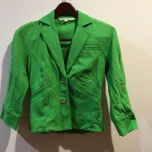 Diane von furstenberg cropped blazer